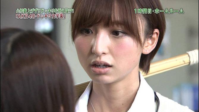「ドッキリ女学園」のドッキリで仁藤萌乃にキレる篠田麻里子