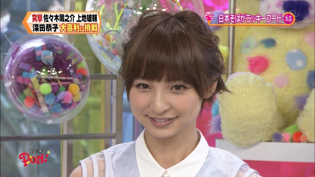 「PON!」に出演した篠田麻里子