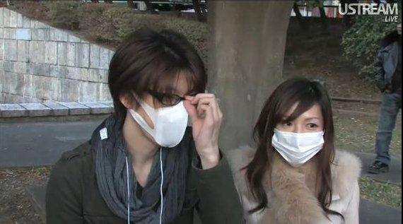 マスクをしていると綺麗に見える女