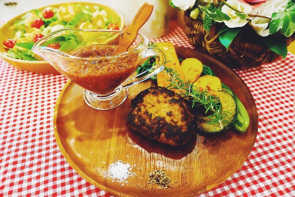 篠田麻里子が作った料理 篠田麻里子が作ったハンバーグ