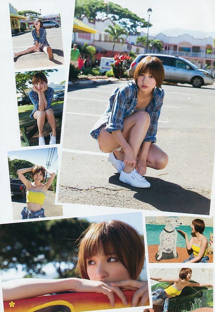 篠田麻里子のグラビア