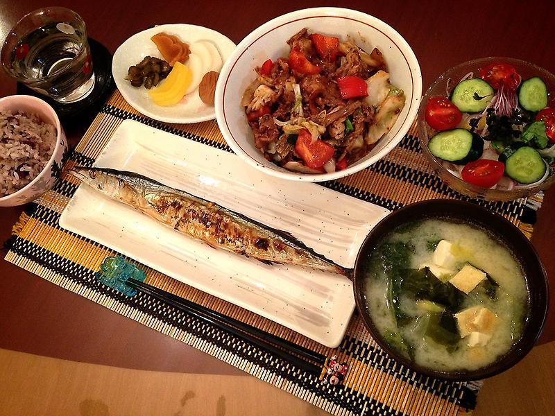 加藤茶の家の食卓