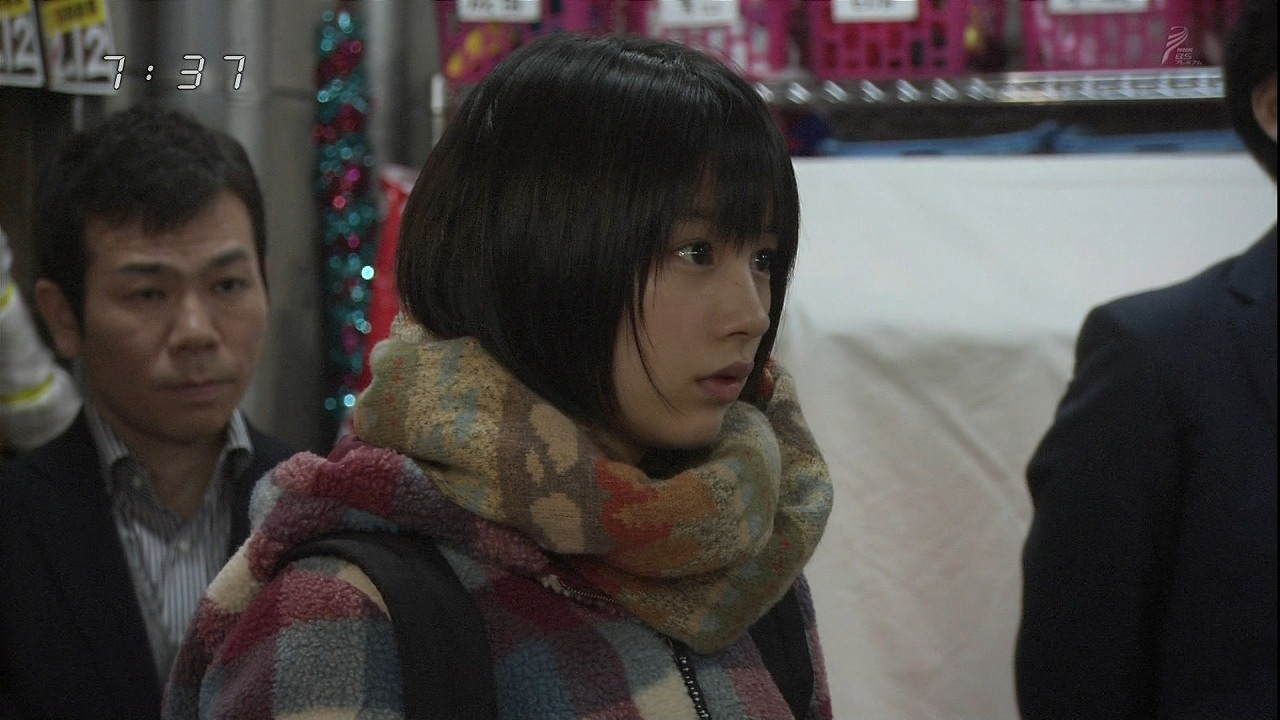能年玲奈、ドラマ「あまちゃん」でのワンシーン