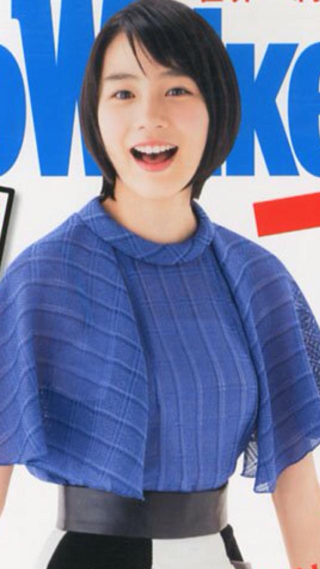 東京ウォーカー表紙の能年玲奈の胸が大きい