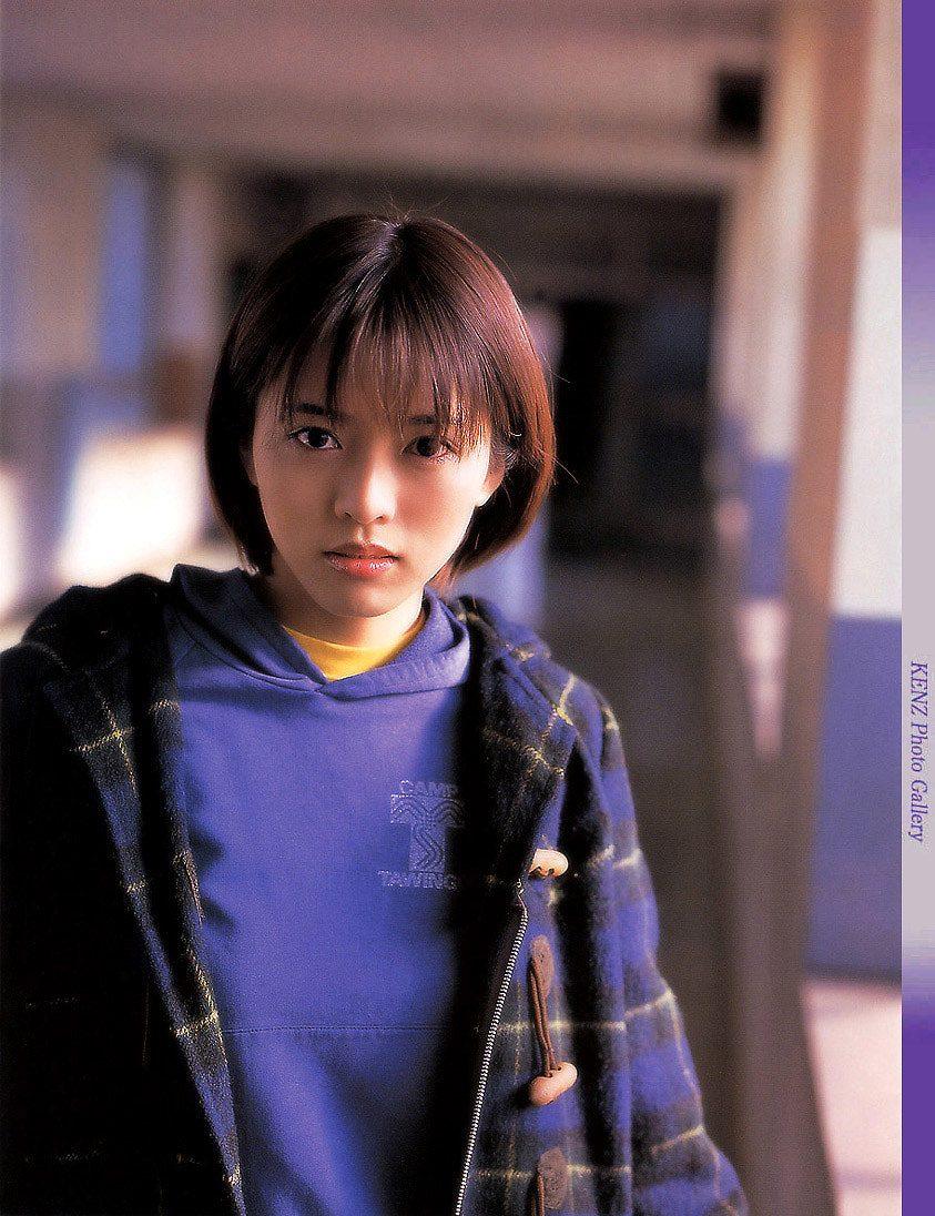 若い頃の釈由美子 整形初期の釈由美子