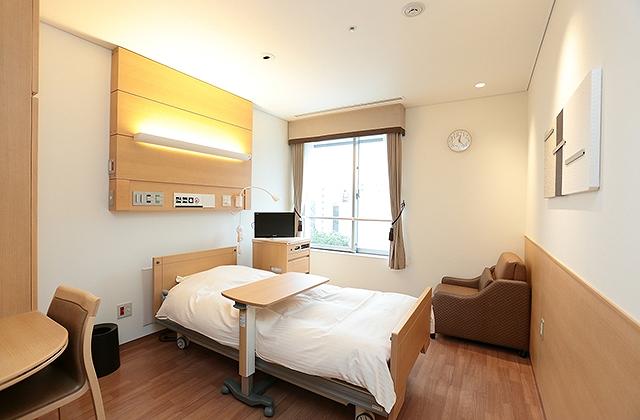慶應義塾大学病院の特別個室