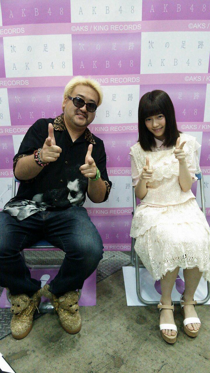 写メ会で島崎遥香がファンと撮ったツーショット