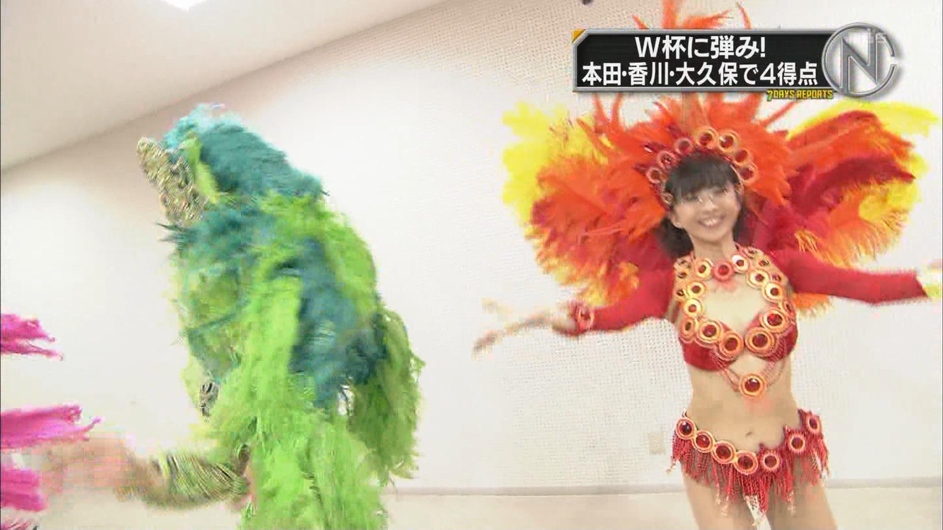 TBSの新・情報7daysニュースキャスターで紹介されたサンバ