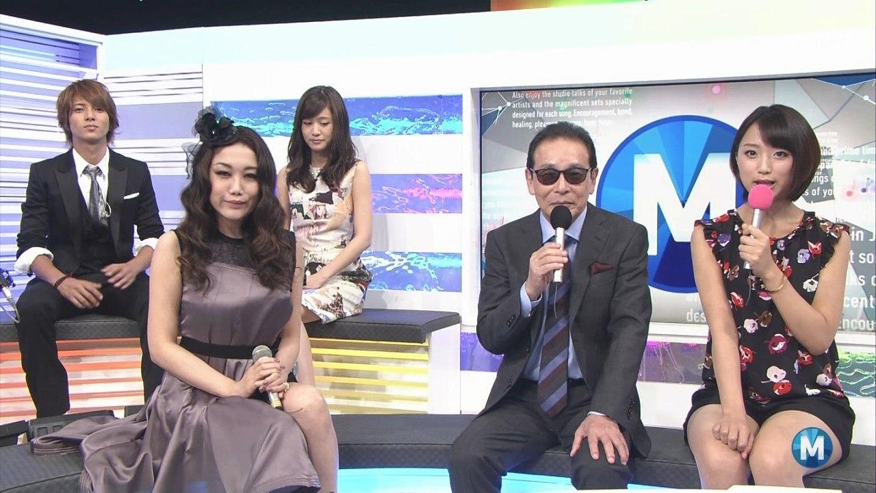 ミュージックステーションでのJUJU、山下智久、前田敦子、タモリ、竹内由恵 竹内由恵の太ももが凄い
