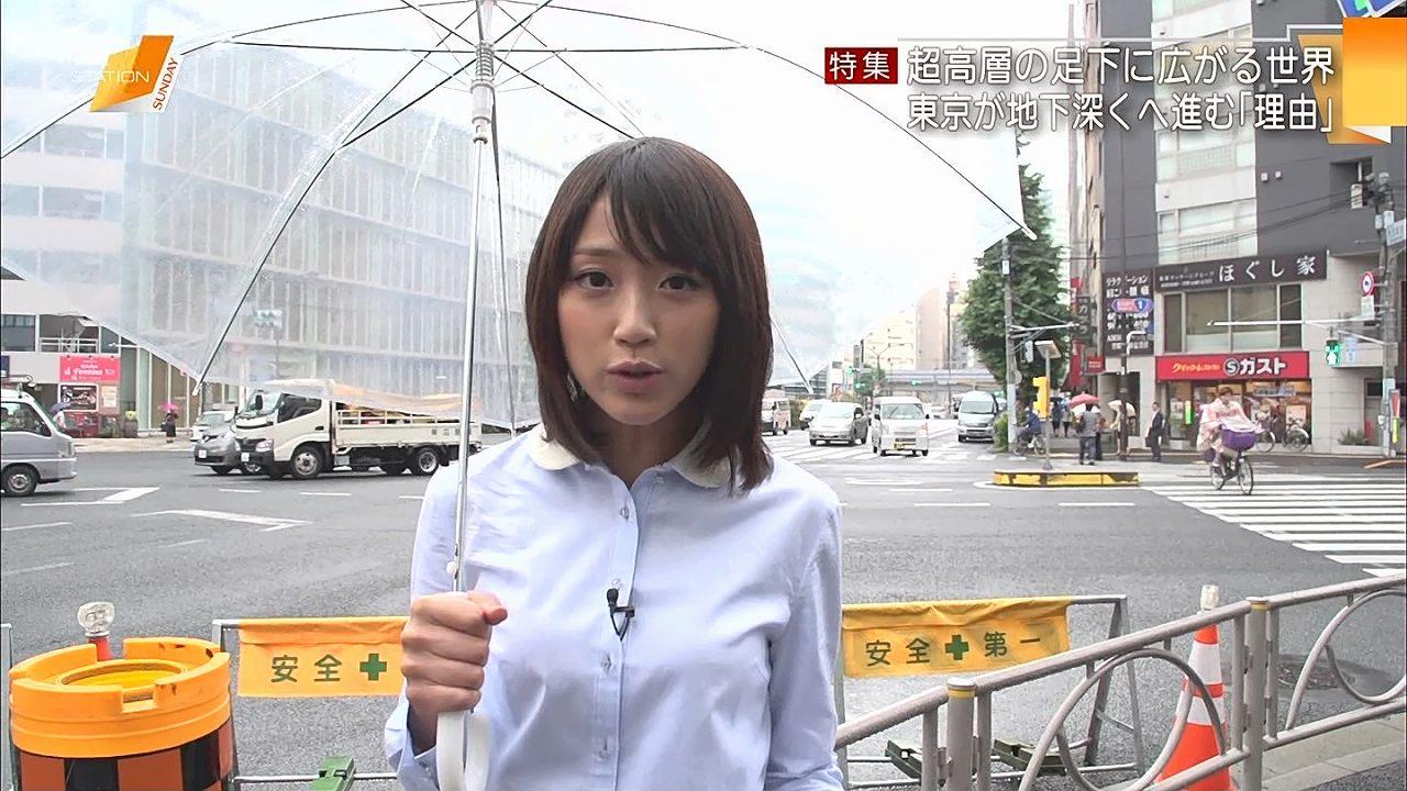 テレビ朝日の竹内由恵アナ