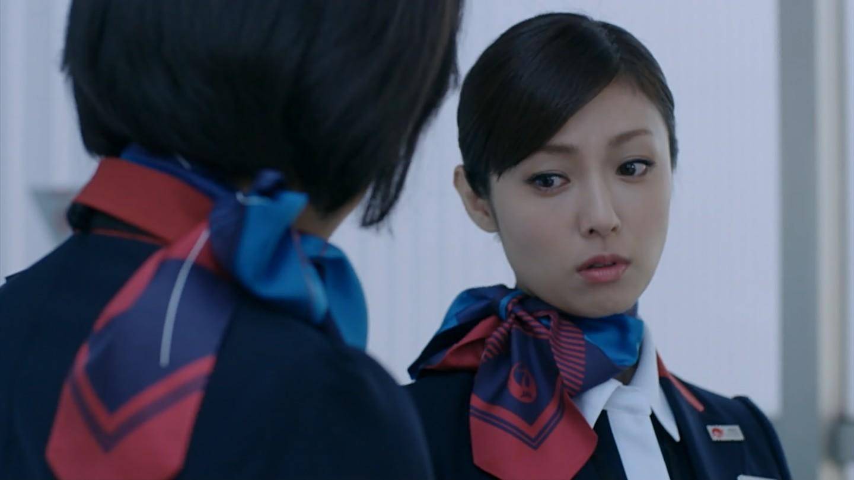 ドラマ「キャビンアテンダント刑事」でCAを演じた深田恭子