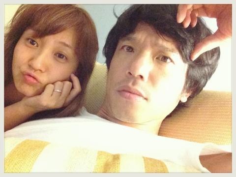 藤本美貴がブログに載せた夫との事後画像 藤本美貴と品川庄司の庄司智春