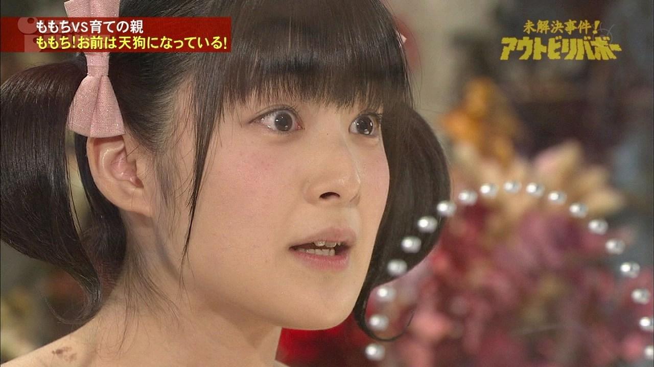 アンビリーバボーに出演した嗣永桃子の肩にキスマークがついてる