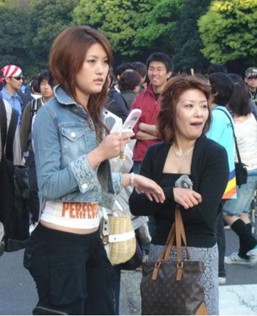 石川梨華の母?と妹