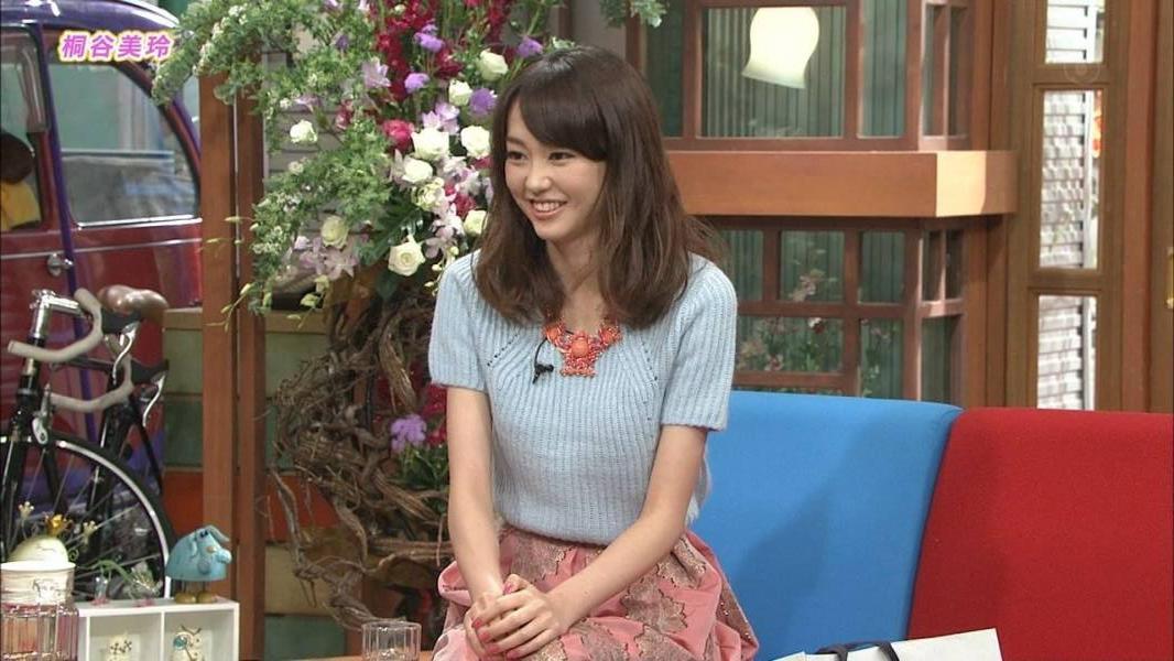 「さんまのまんま」に出演した桐谷美玲