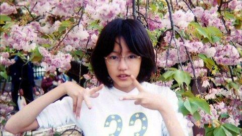 学生時代、眼鏡をかけた桐谷美玲