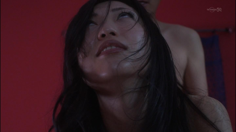 ドラマ「アラサーちゃん 無修正」の壇蜜の濡れ場