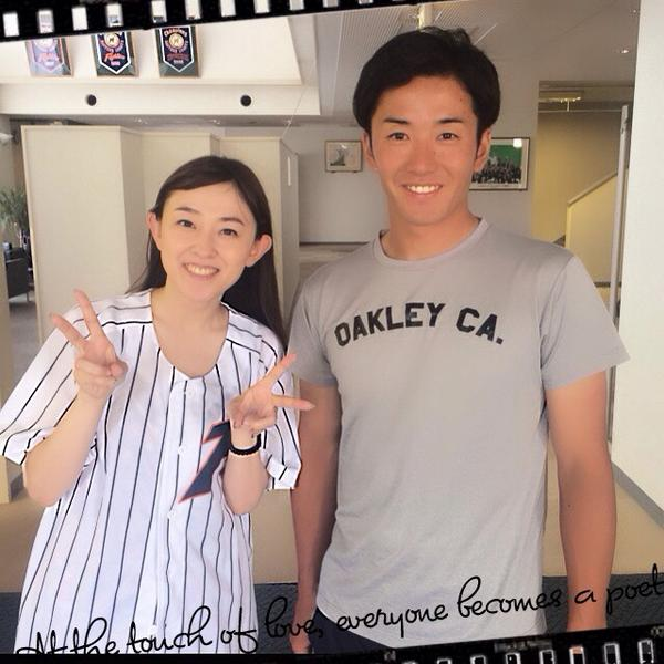 声優の高橋美佳子とプロ野球選手の斎藤佑樹