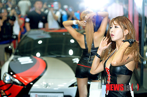 韓国のレースクイーン