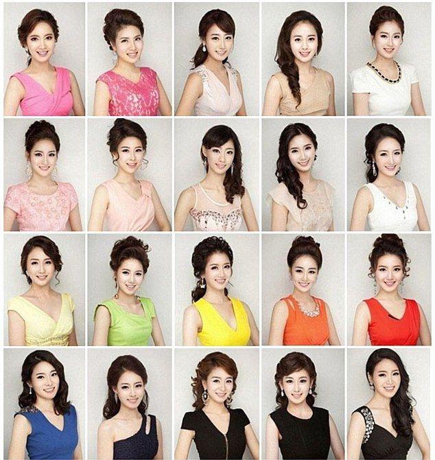 整形した韓国人の顔がみんな同じ ミスコリア