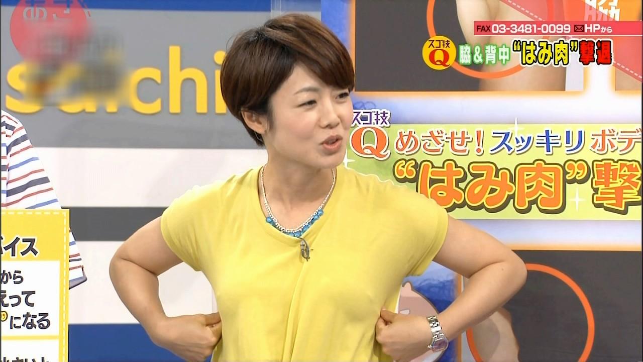 あさイチの有働由美子アナ