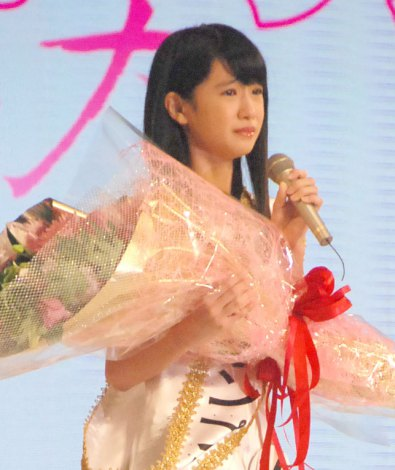 「全日本国民的美少女コンテスト」でグランプリを獲得した高橋ひかるさん