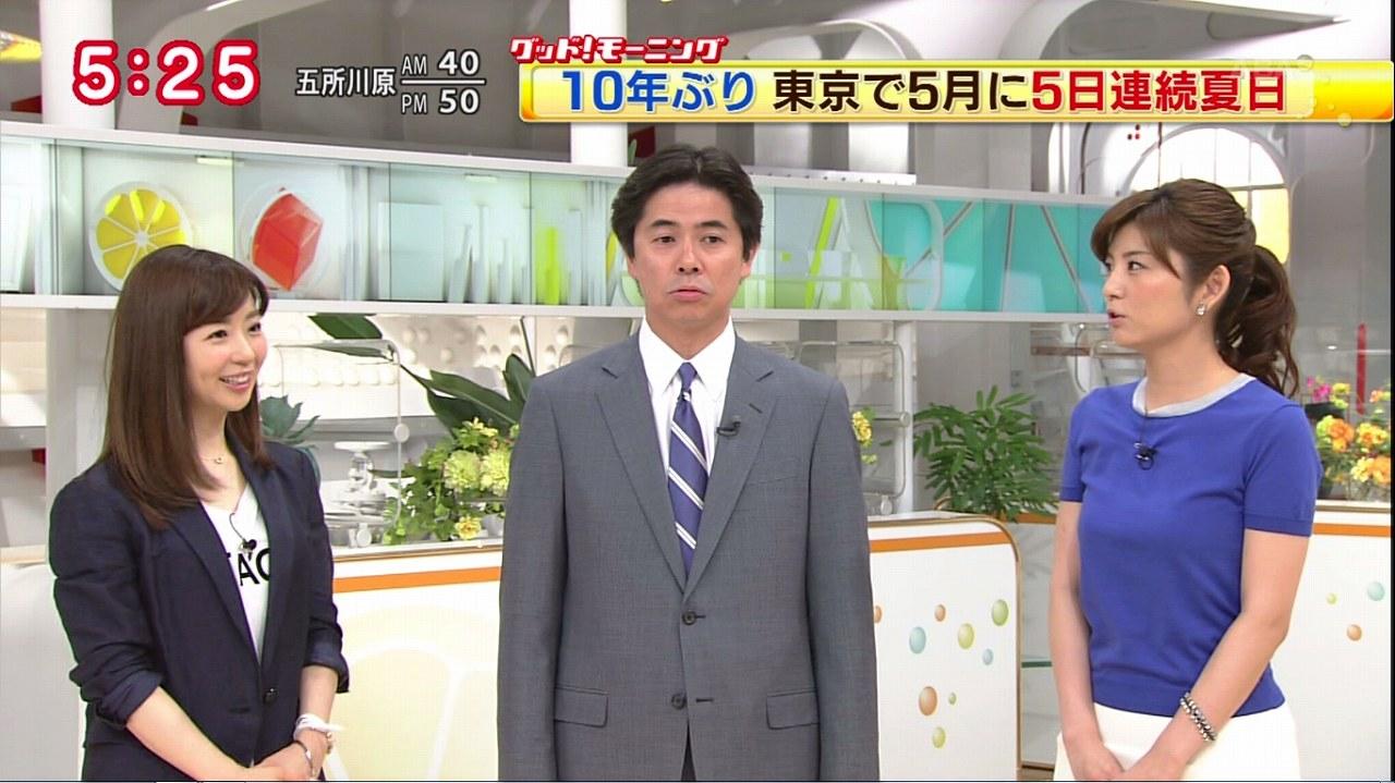 テレビ朝日の宇賀なつみアナ