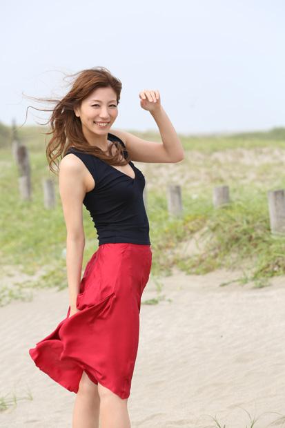 元シンクロ日本代表、青木愛の週刊プレイボーイグラビア