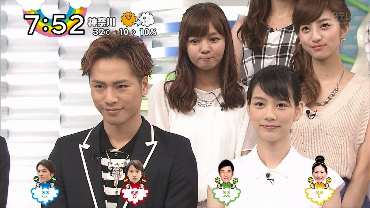 ZIP!にホットロードの宣伝で出演した登坂広臣と能年玲奈