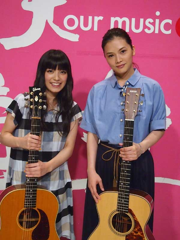 miwaとYUIのツーショット