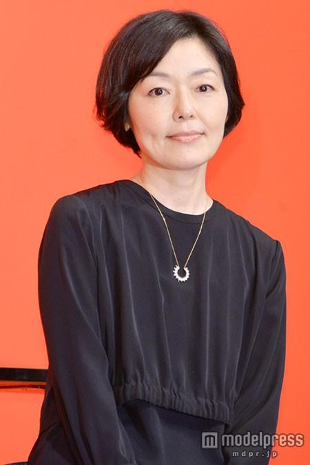 映画『紙の月』完成報告会見の小林聡美