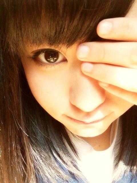 モーニング娘。'14の小田さくらの自撮り画像