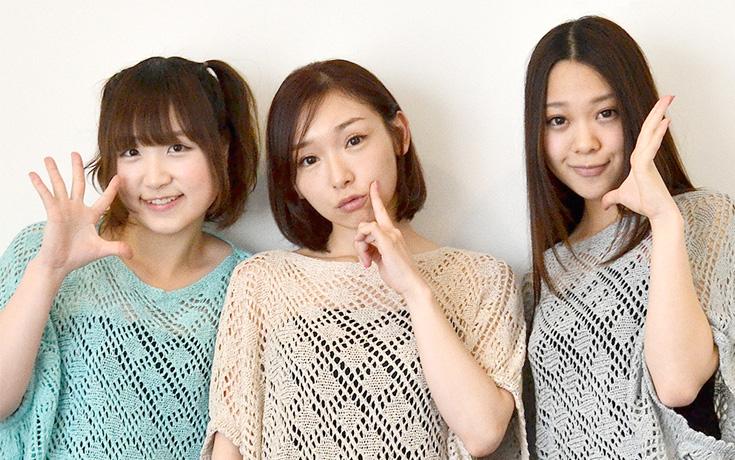 加護亜依とガールズユニット「Girls Beat!!(ガールズビート)」のメンバー