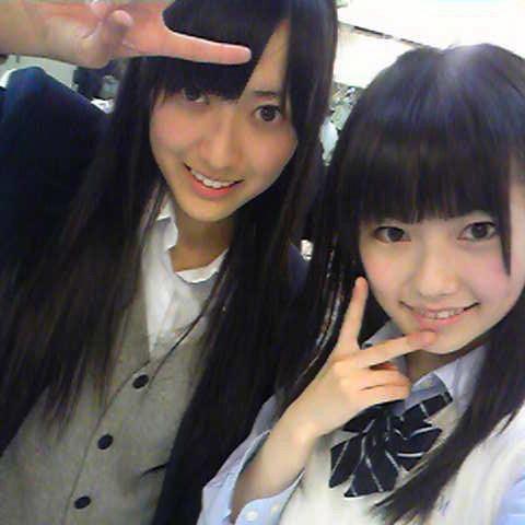 AKB48時代の高松恵理と島崎遥香のツーショット