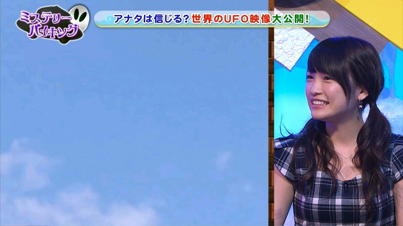 AKB48の川栄李奈がキスマークをテープで隠してテレビ出演