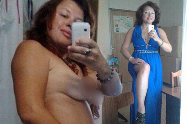 全裸画像を誤ってSNSにUPしてしまったロシアの美人音楽教師エレナさん 問題の全裸画像
