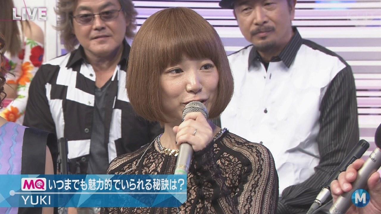 ミュージックステーションに出演したYUKIの衣装がスケスケ