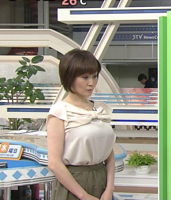 札幌テレビの熊谷明美アナ