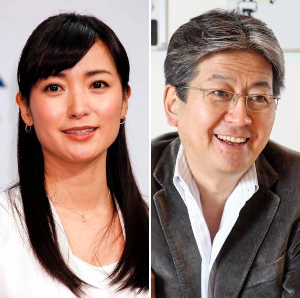 15歳の年の差婚をするテレ東の大江麻理子アナとマネックスグループ代表取締役社長CEOの松本大氏