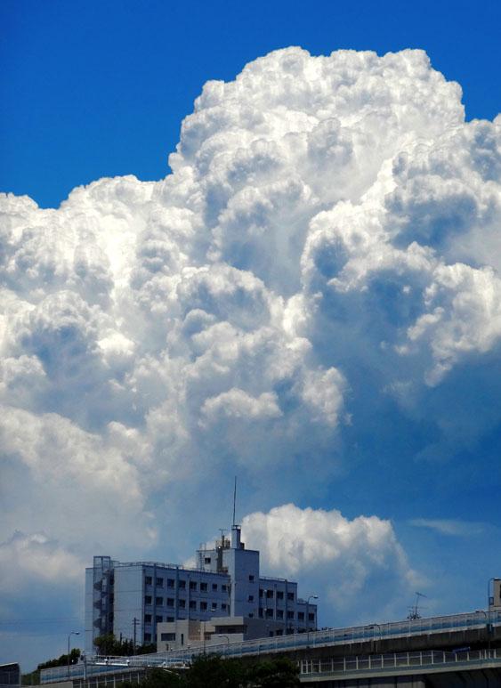 140613今日の入道雲2