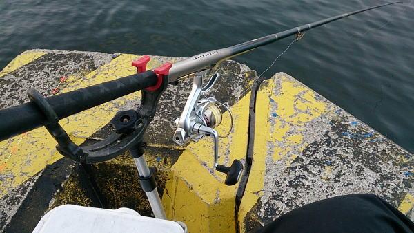 6時過ぎに釣り開始 ^^