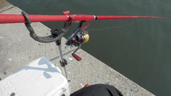 10:21 釣り開始 ♪