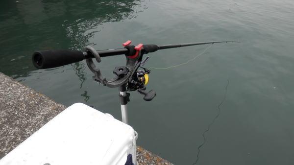 9時前に釣り開始 ・・・