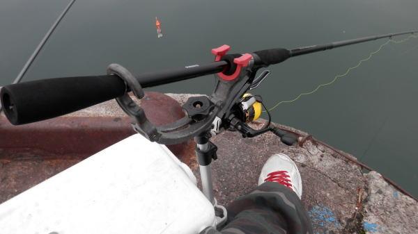 6時前に釣り開始 ・・・