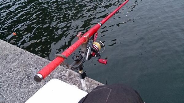 5時過ぎ釣り開始 ^^