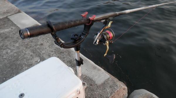 5:30 ごろ釣り開始 ♪