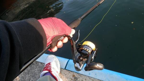 5:10 釣り開始 ♪