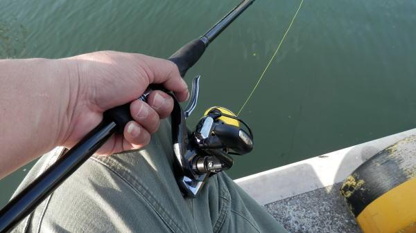 7:29 釣り開始 ♪