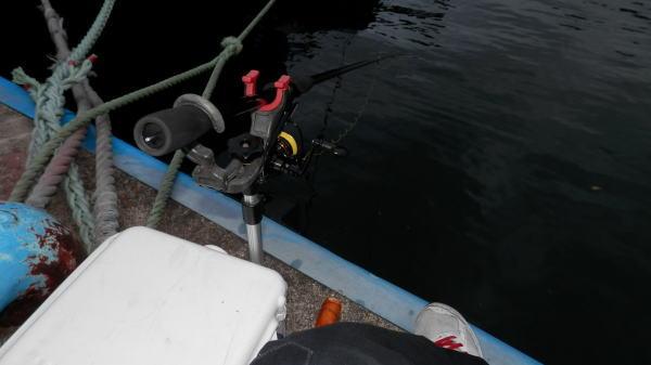 4:50 釣り開始 ♪