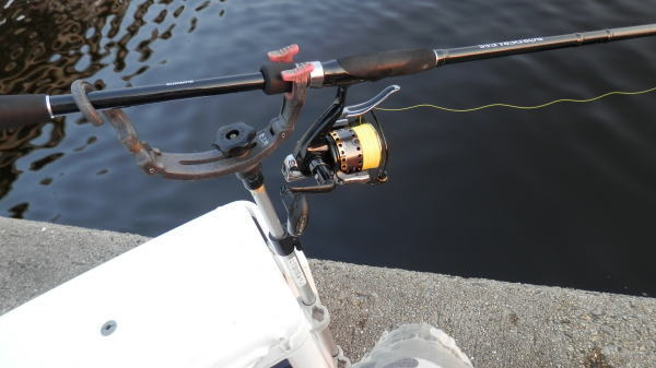 5:10 釣り開始 ^^